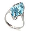Золотое кольцо с голубым топазом SL-0243-500 весом 5.5 г  стоимостью 30800 р.