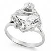 Серебряное кольцо с горным хрусталем SL-2254-380 весом 3.8 г  стоимостью 3100 р.