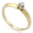 Золотое кольцо с бриллиантами SLZ-15001-216 весом 2.16 г  стоимостью 14500 р.